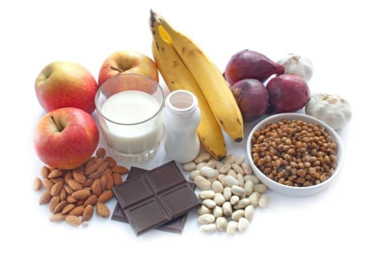 Các thực phẩm giàu prebiotic