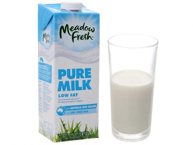 sữa 1% béo