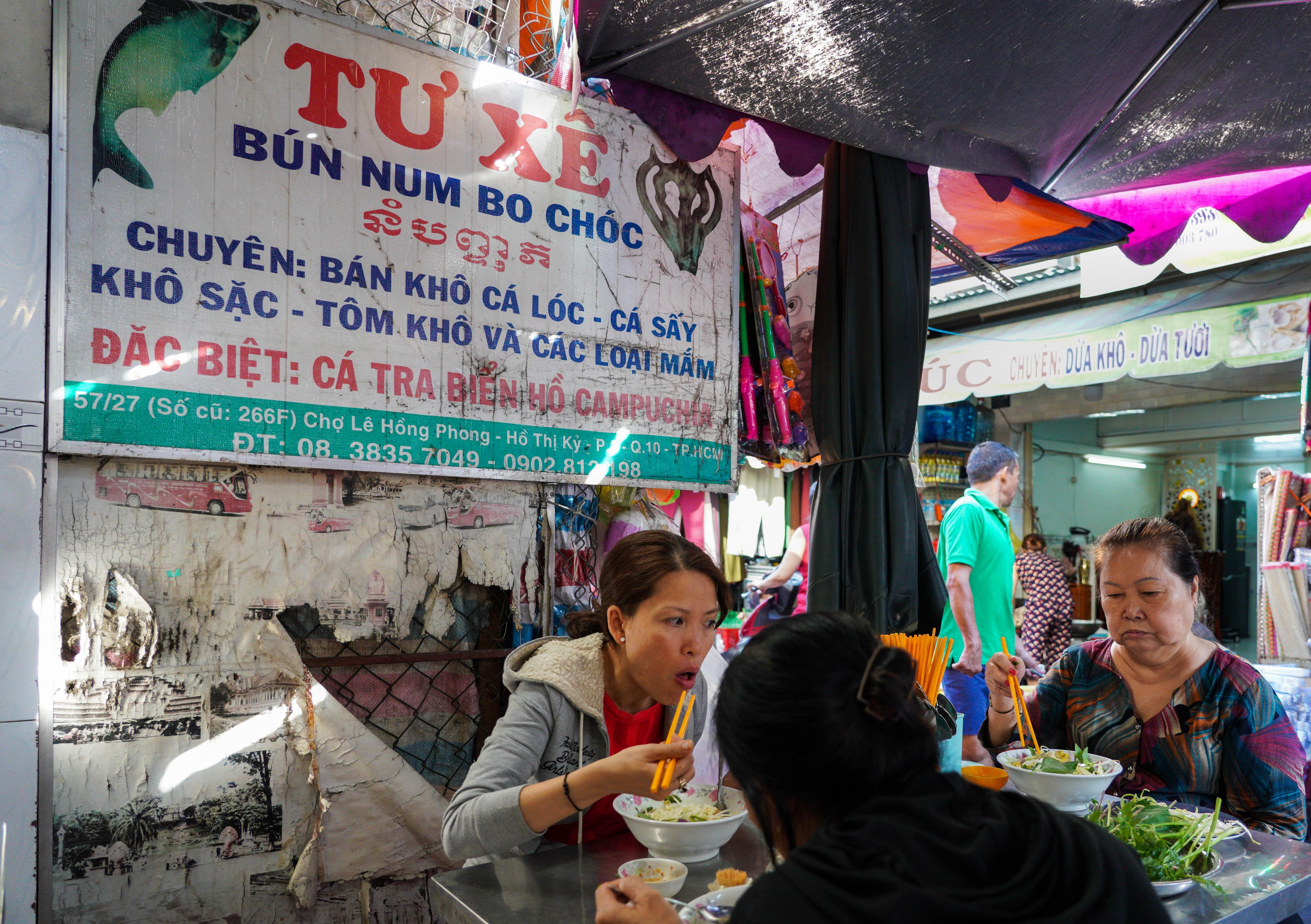 Quan bun ca Campuchia gan nua the ky giua long Sai Gon hinh anh 1 TCH04860_14.jpg