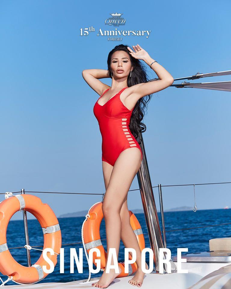 thi sinh hoa hau chuyen gioi quoc te 2020 mac bikini gay that vong vi lo eo mo, dui to hinh anh 11