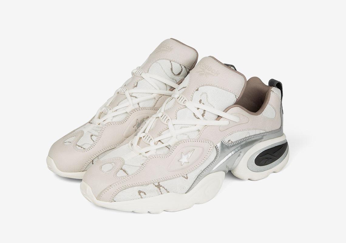 giay chunky sneaker bape reebok electrolyte 97 - elle man