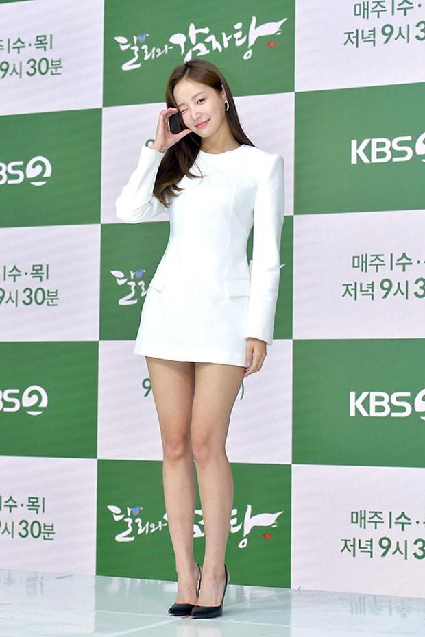 Yeon Woo hen ho Lee Min Ho anh 4